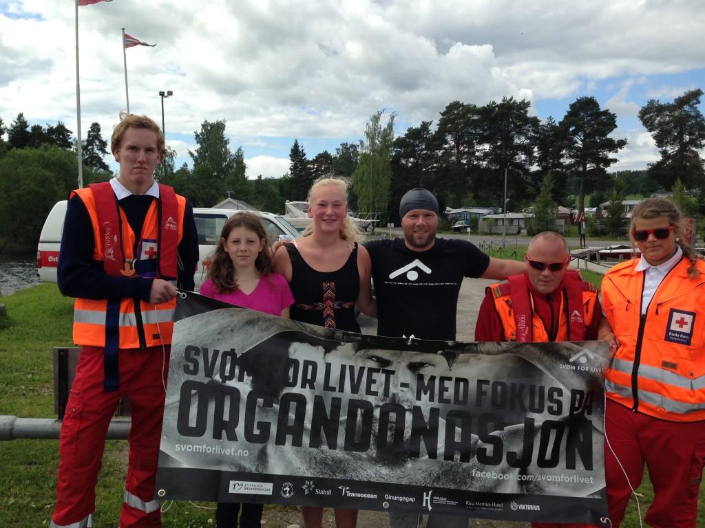Team Svøm for livet; Etappe 5.